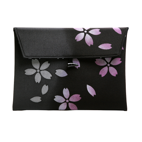 MacSleeve BLACK for MacBookPro 13 Retina SAKURA(2013モデル対応)